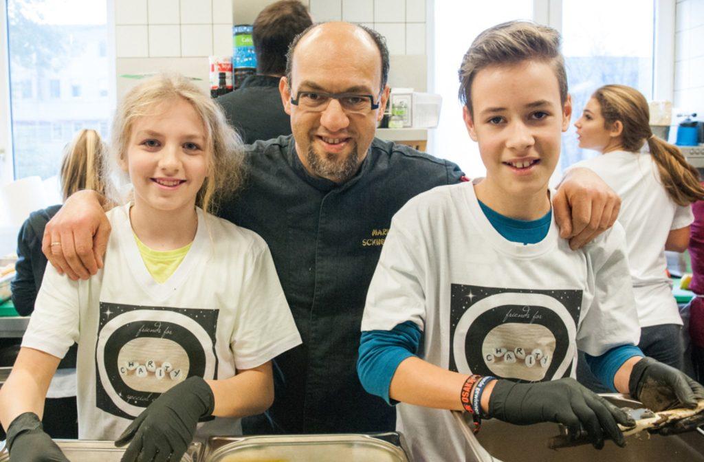 """Charity Kochen in Mörbisch – """"Friends for special children"""""""
